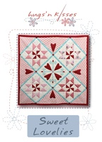 Pattern: Sweet Lovelies By Hugs 'N Kisses. (H-36)