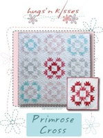 Pattern: Primrose Cross By Hugs 'N Kisses. (H-39)