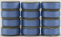 SuperBOBs #610 Light Blue M-style Bobbins. 1 Dz.
