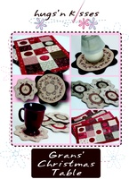 Pattern: Gran's Christmas Table By Hugs 'N Kisses. (H-18)