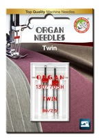 #80/2.5 Twin Universal x 2 Needles