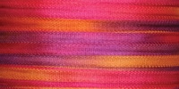 #121 Hot Flash 7mm Silk Ribbon x 3 yds.