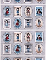 "Quilting Treasures Simply Gorjuss 24"" Panel"