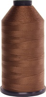 #004 Brown - Bonded Nylon Thread size #69 (1 Pound Approx. 6,015 Yds)
