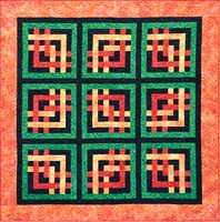Criss-Cross Batik Quilt Kit