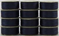 SuperBOBs #609 Dark Blue. L-style Bobbins. 1 Dz.