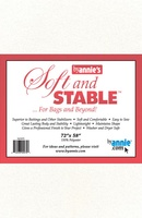 """Byannie's White Soft And Stable 2 Yards (72"""" X 58"""")"""
