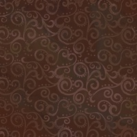 Quilting Treasures Ombre Scroll Brown