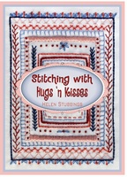 Pattern: Stitching With Hugs 'N Kisses - Embroidery Booklet (H-64)