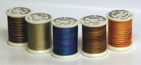 Set of 62 Colors - Rainbows 500 yd. spools