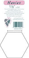 "Pre-Cut Iron On Hexies By Hugs' N Kisses (1 1/2"" X 50)"