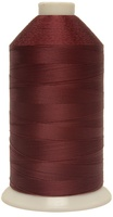 #024 Deep Red - Bonded Nylon Thread size #69 (1 Pound Approx. 6,015 Yds)