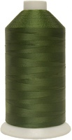 #017 Dark Green - Bonded Nylon Thread size #69 (1 Pound Approx. 6,015 Yds)
