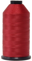 #008 Bright Red - Bonded Nylon Thread size #69 (1 Pound Approx. 6,015 Yds)
