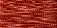 Buttonhole Silk #16 #063 Burnt Orange 22 Yds. On Card.
