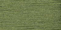 Buttonhole Silk #16 #081 Avocado 22 Yds. On Card.