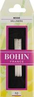 Bohin Straw/Milliners Size 10 Hand Needles