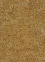 Batik Textiles Caribbean Calypso Dark Gold
