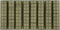 SuperBOBs #617 Taupe M-style Bobbins. 1/2 Gross.