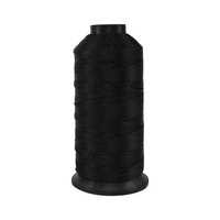#001 Black - Bonded Nylon Thread size #346 (4 Oz. Approx. 300 Yds)