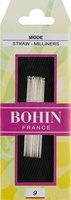 Bohin Straw/Milliners Size 9 Hand Needles