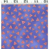 Clothworks Laurel Burch Basic Metallic Purple