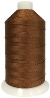 Brown - Bonded Nylon Thread size #277 (1 Pound Approx. 1,422 Yds)