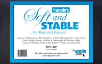 """Byannie's Black Soft And Stable 1/2 Yard (18"""" X 58"""")"""