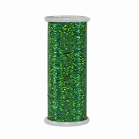 #205 Green - Glitter 400 yd. spool