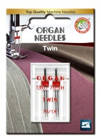 #70/1.6 Twin Universal x 2 Needles