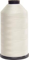 #002 White - Bonded Nylon Thread size #346 (1 Pound Approx. 1,200 Yds)