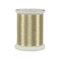 #002 Light Gold - Superior Metallics 500 yd. spool