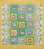 Cheeky Monkey 2 Quilt Kit