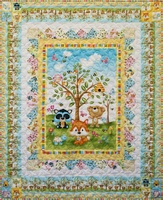 Woodland Cuties Quilt Kit