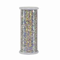 #202 Silver - Glitter 400 yd. spool