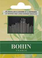 Bohin 20 Assorted Darners & Sharps Hand Needles