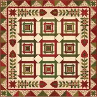 FREE DOWNLOADABLE PATTERN - Henry Glass Winter Blessings