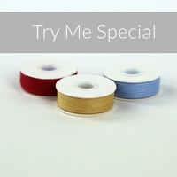 So Fine! #50 M-Style Try Me Special x 3 Bobbins