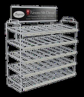 Empty 40-Slot Display Rack. Each Slot Holds 4 Spools. (8511-W)