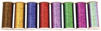 Bright Color Set - Glitter 400 yd. spools