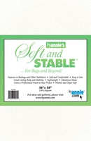 """Byannie's White Soft And Stable 1 Yard (36"""" X 58"""")"""