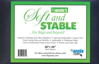 """Byannie's Black Soft And Stable 1 Yard (36"""" X 58"""")"""