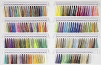 Fantastico Variegated Trilobal Polyester Thread Color Book