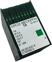 Groz-Beckert 134 135X5. #14 (MR 3.0). Pack of 100