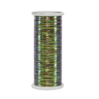 #114 Rainbow (Variegated) - Glitter 400 yd. spool