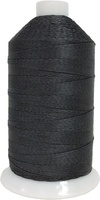 Dark Gray - Bonded Nylon Thread size #277 (1 Pound Approx. 1,422 Yds)