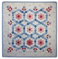 "EPP Mini Quilt of the Month 1/2"" Hexie By Hugs N Kisses"