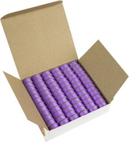 SuperBOBs #607 Light Purple L-style Bobbins. 1 Gross.
