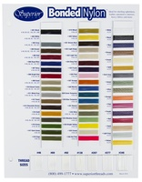 Bonded Nylon Color Card