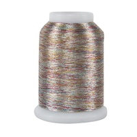 #031 Variegated Silver - Superior Metallics 1,090 yd. mini cone